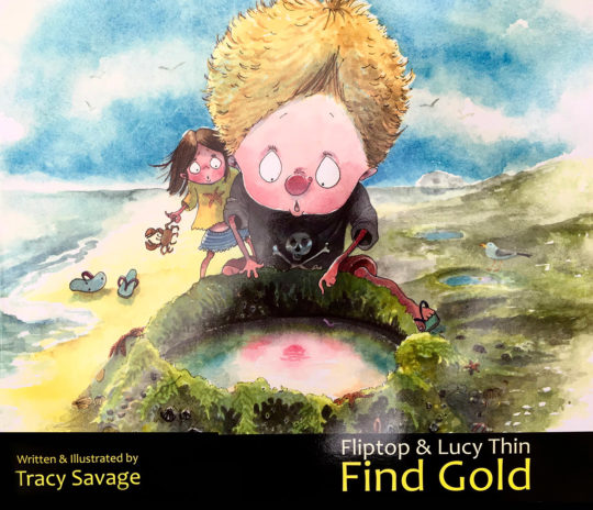 Find Gold book - Tracy Savage