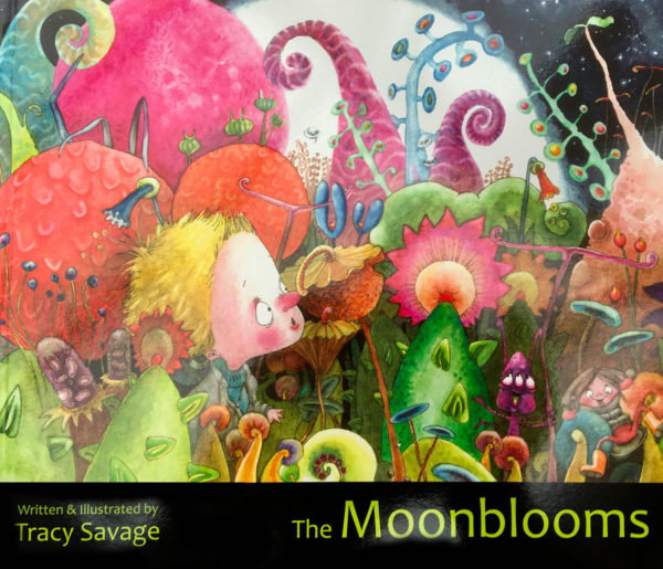 Moonblooms book - Tracy Savage